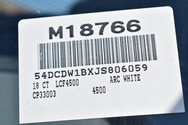 2018 LCF 4500 Regular Cab 4x2,  Martin Flat/Stake Bed #M18766 - photo 5