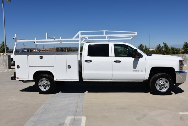 2018 Silverado 2500 Crew Cab 4x2,  Harbor Utility #M18788 - photo 9