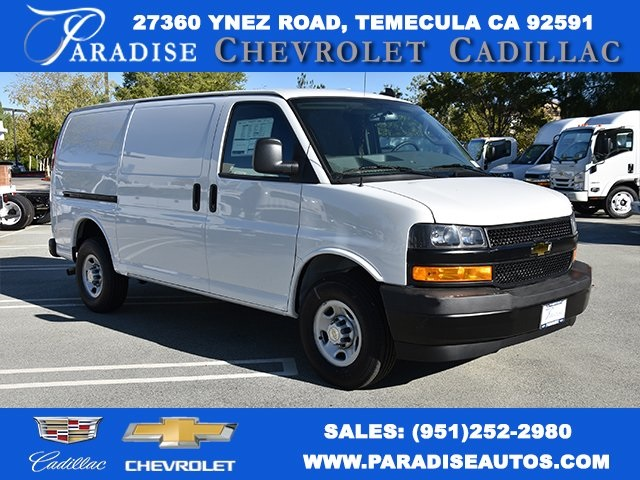 Cargo Van For Sale >> 2018 Express 2500 4x2 Masterack Steel General Service Upfitted Cargo Van Stock M18886
