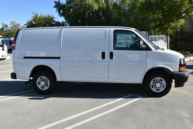 2018 Express 2500 4x2,  Masterack Steel General Service Upfitted Cargo Van #M18888 - photo 8
