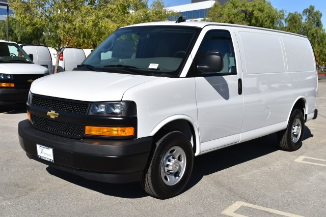 2018 Express 2500 4x2,  Masterack Steel General Service Upfitted Cargo Van #M18937 - photo 5