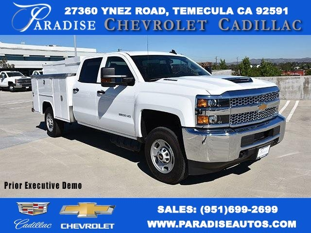 2019 Silverado 2500 Crew Cab 4x2,  Harbor Utility #M19006 - photo 1