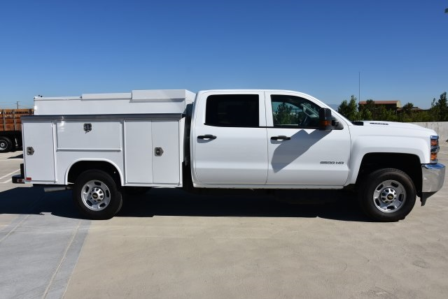 2019 Silverado 2500 Crew Cab 4x2,  Harbor TradeMaster Utility #M19006 - photo 9