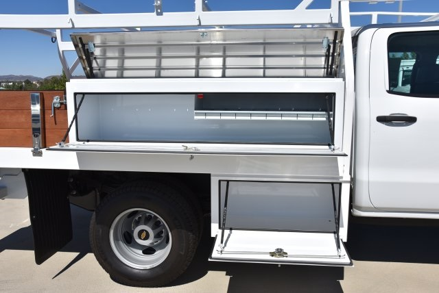 2019 Silverado 3500 Crew Cab DRW 4x2,  Harbor Standard Contractor Body #M19009 - photo 10