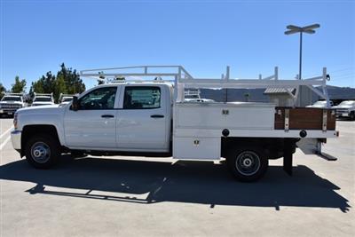 2019 Silverado 3500 Crew Cab DRW 4x2,  Harbor Standard Contractor Body #M19009 - photo 6