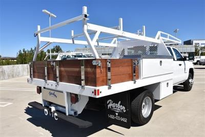 2019 Silverado 3500 Crew Cab DRW 4x2,  Harbor Standard Contractor Body #M19009 - photo 2