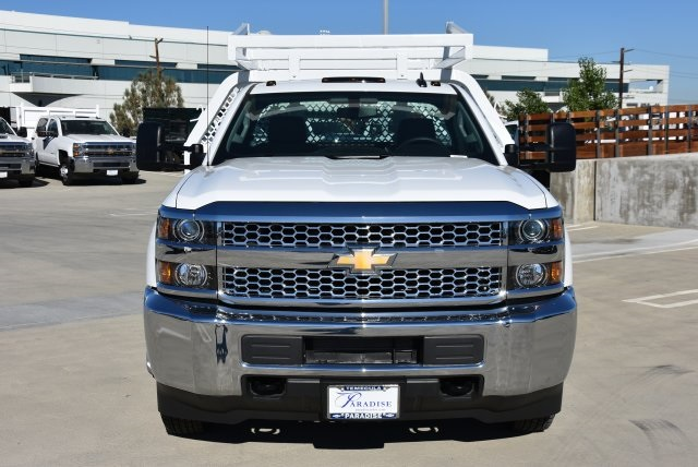 2019 Silverado 3500 Regular Cab DRW 4x2,  Royal Contractor Body #M19057 - photo 4
