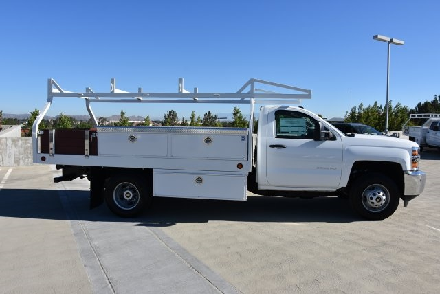 2019 Silverado 3500 Regular Cab DRW 4x2,  Royal Contractor Body #M19057 - photo 9