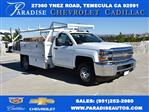 2019 Silverado 3500 Regular Cab DRW 4x2,  Royal Contractor Body #M19057 - photo 1