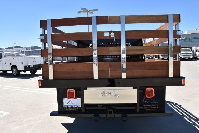 2019 Silverado 3500 Regular Cab DRW 4x2,  Harbor Black Boss Stake Bed Flat/Stake Bed #M19063 - photo 7
