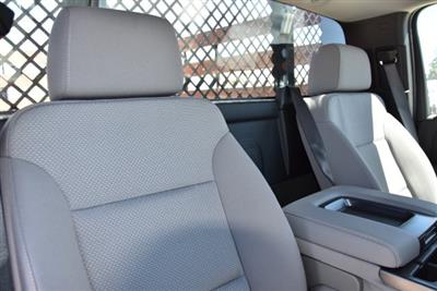 2019 Silverado 3500 Regular Cab DRW 4x2,  Harbor Black Boss Stake Bed Flat/Stake Bed #M19063 - photo 12