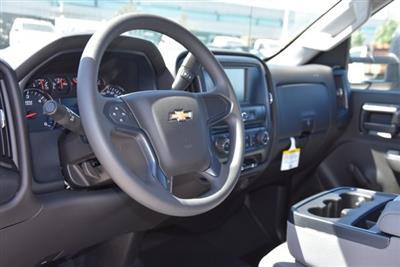 2019 Silverado 3500 Regular Cab DRW 4x2,  Harbor Black Boss Stake Bed Flat/Stake Bed #M19063 - photo 13