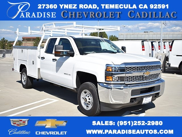 2019 Silverado 2500 Double Cab 4x2,  Harbor Utility #M19089 - photo 1