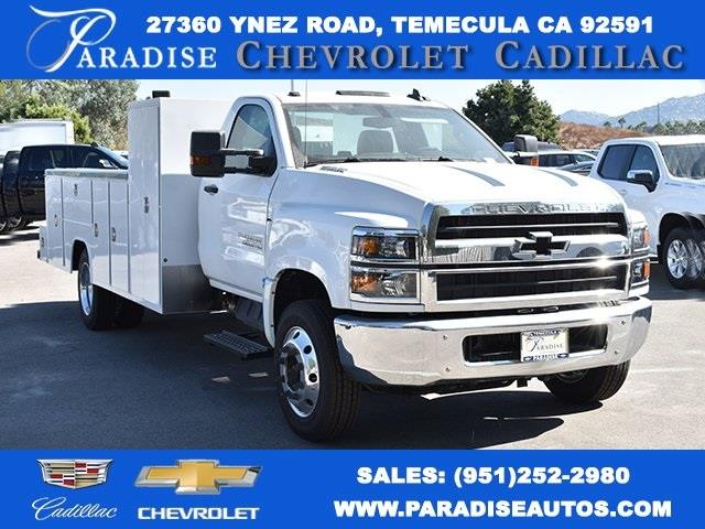 2019 Silverado 5500 Regular Cab DRW 4x2, Cab Chassis #M191008 - photo 1