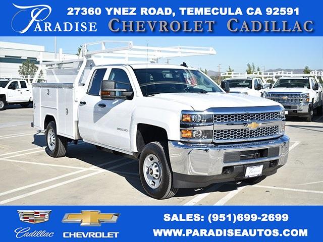 2019 Silverado 2500 Double Cab 4x2, Harbor Utility #M191024 - photo 1