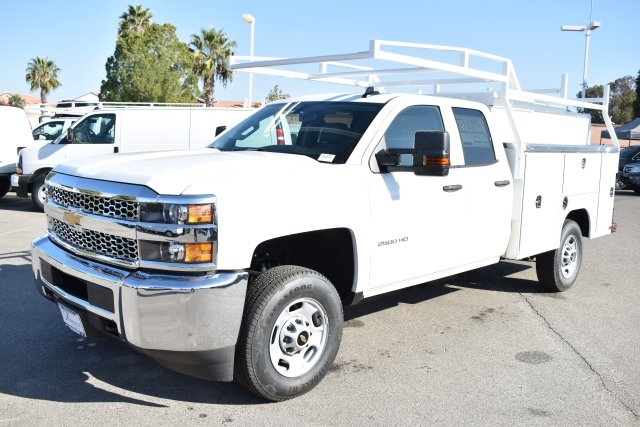 2019 Silverado 2500 Double Cab 4x2,  Harbor Utility #M19103 - photo 5