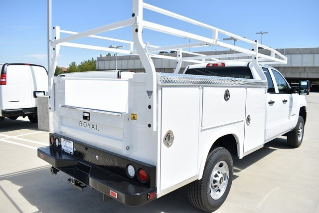 2019 Silverado 2500 Double Cab 4x2,  Royal Service Body Utility #M191034 - photo 2