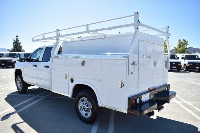 2019 Silverado 2500 Double Cab 4x2, Royal Service Body Utility #M191035 - photo 8
