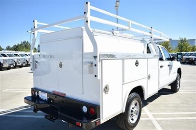 2019 Silverado 2500 Double Cab 4x2, Royal Service Body Utility #M191035 - photo 2