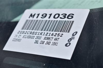 2019 Silverado 2500 Double Cab 4x2,  Royal Service Body Utility #M191036 - photo 19
