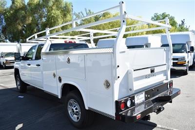 2019 Silverado 2500 Double Cab 4x2, Royal Service Body Utility #M191039 - photo 4