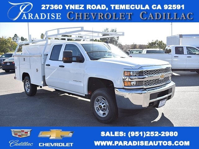 2019 Silverado 2500 Double Cab 4x2,  Harbor TradeMaster Utility #M19104 - photo 1