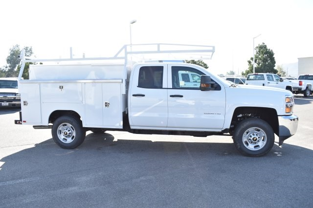 2019 Silverado 2500 Double Cab 4x2,  Harbor TradeMaster Utility #M19104 - photo 9