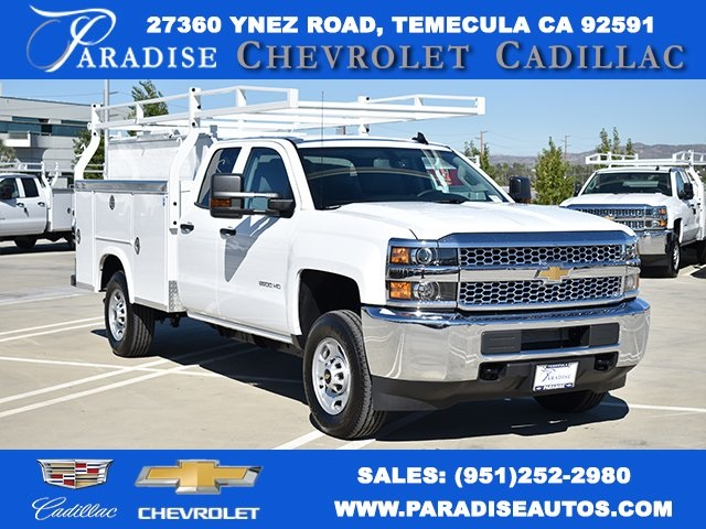 2019 Silverado 2500 Double Cab 4x2, Royal Utility #M191046 - photo 1