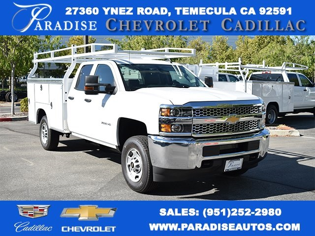 2019 Silverado 2500 Double Cab 4x2, Royal Utility #M191047 - photo 1