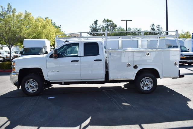 2019 Silverado 2500 Double Cab 4x2, Royal Service Body Utility #M191049 - photo 3