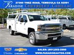 2019 Silverado 2500 Double Cab 4x2, Royal Service Body Utility #M191049 - photo 1