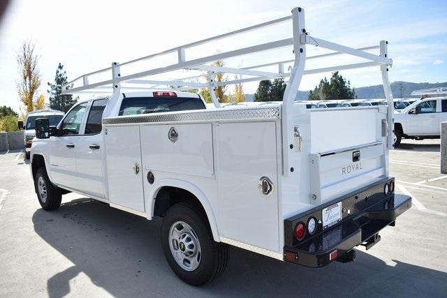 2019 Silverado 2500 Double Cab 4x2, Royal Service Body Utility #M191054 - photo 7