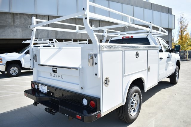 2019 Silverado 2500 Double Cab 4x2, Royal Service Body Utility #M191054 - photo 2