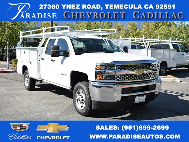 2019 Silverado 2500 Double Cab 4x2, Royal Utility #M191060 - photo 1