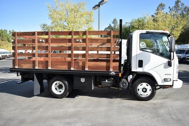 2019 LCF 3500 Regular Cab 4x2, Martin Truck Bodies Flat/Stake Bed #M191064 - photo 10