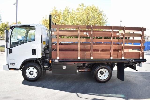 2019 LCF 3500 Regular Cab 4x2, Martin Truck Bodies Flat/Stake Bed #M191064 - photo 3