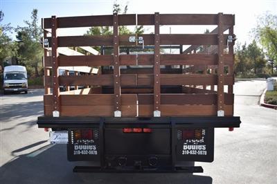2019 LCF 3500 Regular Cab 4x2, Martin Truck Bodies Flat/Stake Bed #M191064 - photo 9