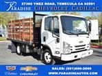 2019 LCF 3500 Regular Cab 4x2, Martin Truck Bodies Flat/Stake Bed #M191064 - photo 1