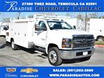 2019 Silverado 5500 Regular Cab DRW 4x2, Harbor ComboMaster Combo Body #M191075 - photo 1