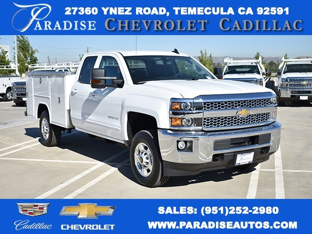 2019 Chevrolet Silverado 2500 Double Cab 4x2, Harbor TradeMaster Utility #M191086 - photo 1