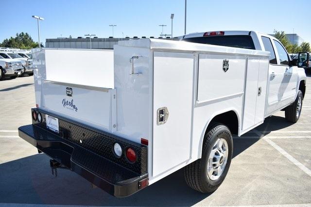 2019 Silverado 2500 Double Cab 4x2, Harbor TradeMaster Utility #M191086 - photo 9