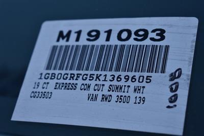 2019 Express 3500 4x2, Supreme Spartan Cargo Straight Box #M191093 - photo 3