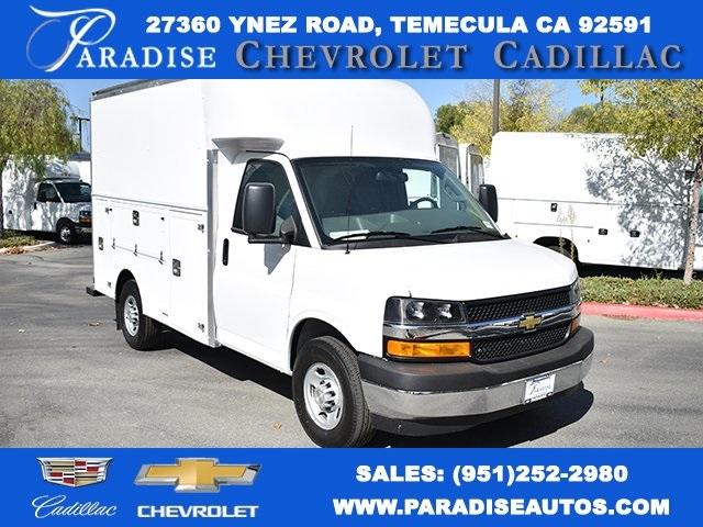 2019 Chevrolet Express 3500 4x2, Supreme Service Utility Van #M191095 - photo 1