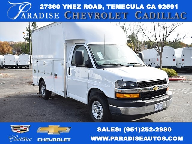 2019 Chevrolet Express 3500 4x2, Supreme Service Utility Van #M191119 - photo 1