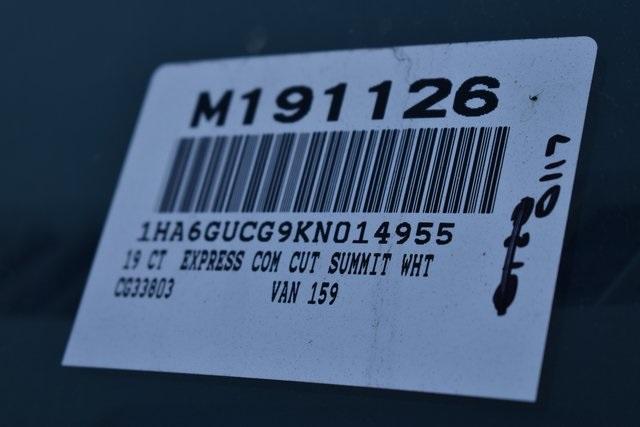 2019 Chevrolet Express 4500 4x2, Morgan Parcel Aluminum Straight Box #M191126 - photo 3