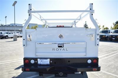 2019 Silverado 2500 Double Cab 4x2, Royal Service Body Utility #M191143 - photo 8