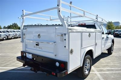 2019 Silverado 2500 Double Cab 4x2, Royal Service Body Utility #M191143 - photo 9