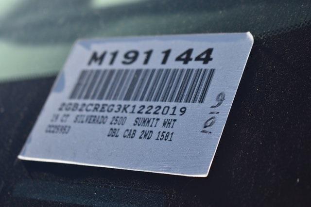 2019 Silverado 2500 Double Cab 4x2, Royal Service Body Utility #M191144 - photo 3