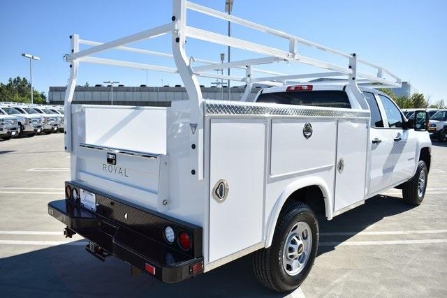 2019 Silverado 2500 Double Cab 4x2, Royal Service Body Utility #M191150 - photo 2