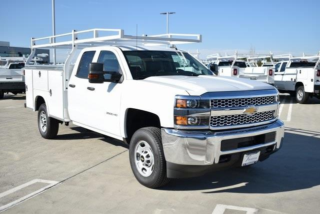 2019 Silverado 2500 Double Cab 4x2, Royal Service Body Utility #M191152 - photo 1